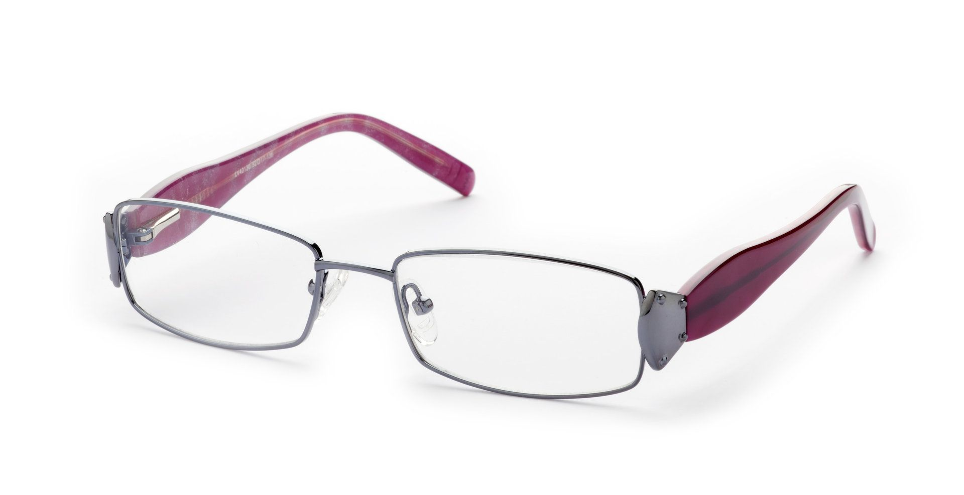 Lennox Eyewear Sarita Silber/Lila - Damenbrillen | Brillen-Klassiker