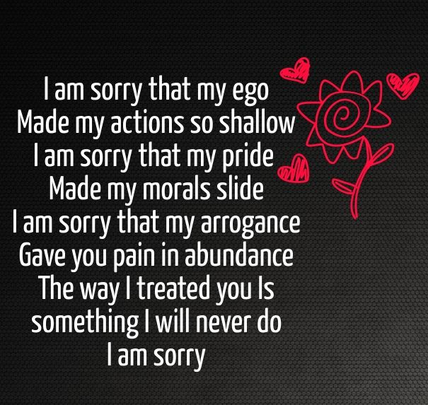im sorry poem for her | Cute Love Quotes for Her | Cute love quotes