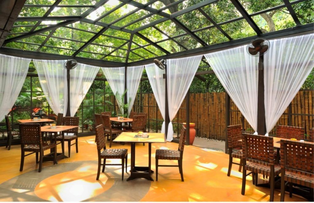 15 Garden Restaurant Design Ideas With Interior Look Restaurant