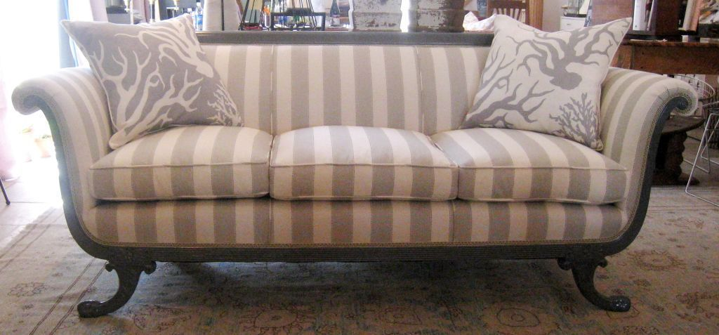 Antique And Modern Furniture Together duncan phyfe style sofa | duncan phyfe, modern and upholstery