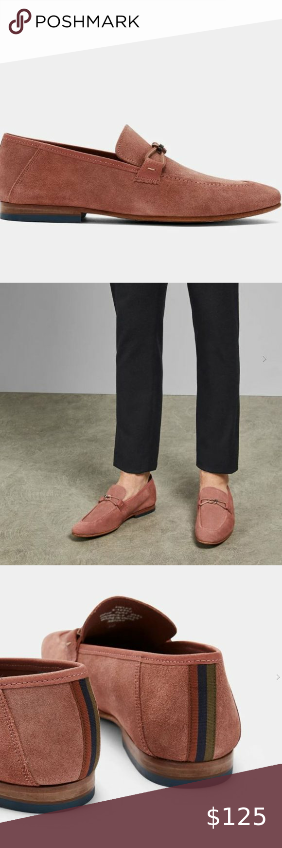 Ted Baker Siblac Loafers - Deep Pink 9