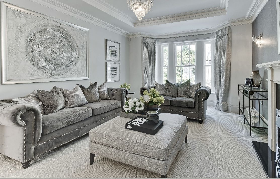 Gorgeous Grey Living Room Ideas And