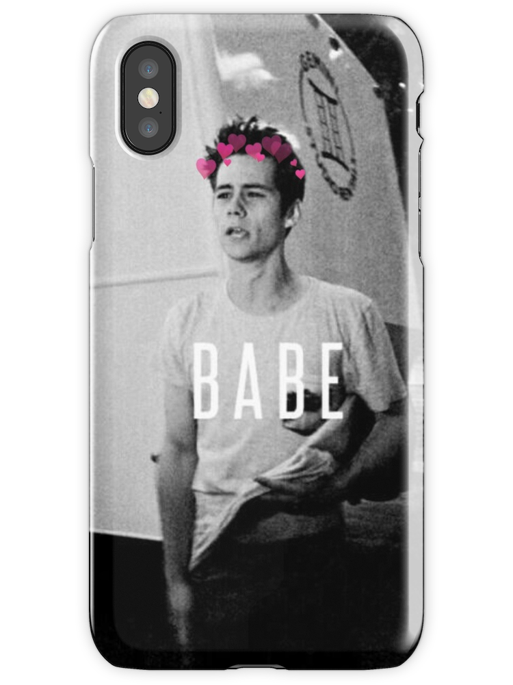 Dylan o'brien iPhone Case & Cover by EV1992 | Dylan o, Iphone case ...