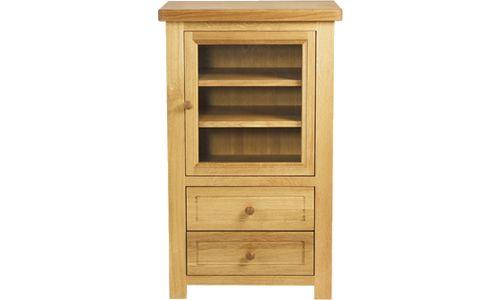 Oak hi-fi unit: Owen Pine and Oak Furniture - Oak Dining Bretagne