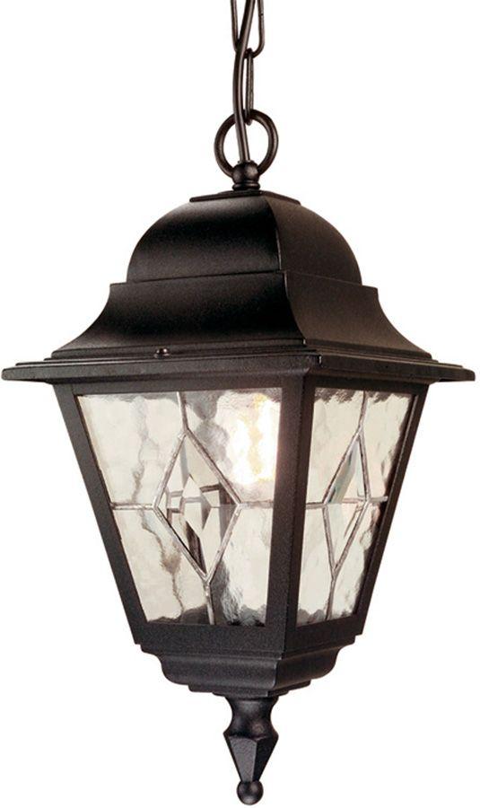 Norfolk traditional black outdoor hanging porch lantern nr9blk aloadofball Image collections