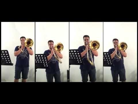 Dj Antoine Ma Cherie Trombone Cover By Whitepotato Sheet Dj Trombone Cover
