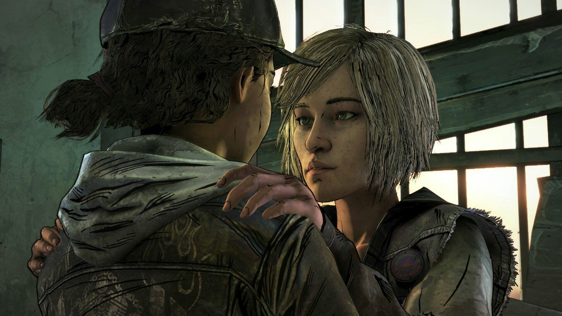 Violet And Clementine The Walking Dead Walking Dead Game The Walking Dead Telltale The Walking Dead