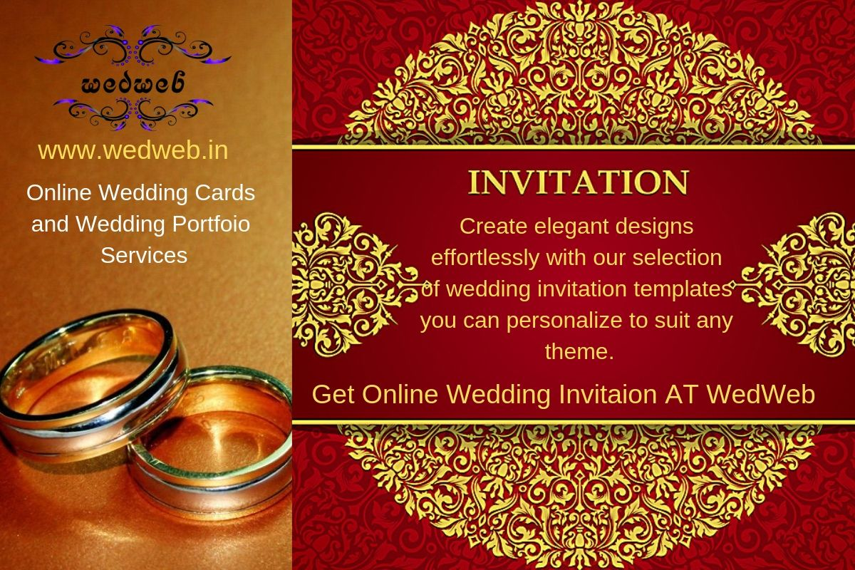 We Are Wedweb Online Weddingservices Provider We Offer An