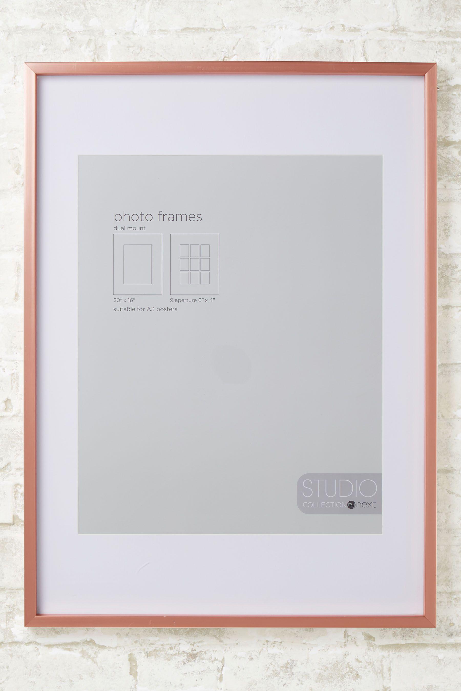 3061a3c81200 Next Poster Frame - Gold