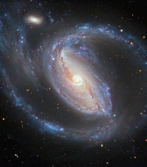 The Seyfert galaxy NGC 1097, in the constellation of Fornax.
