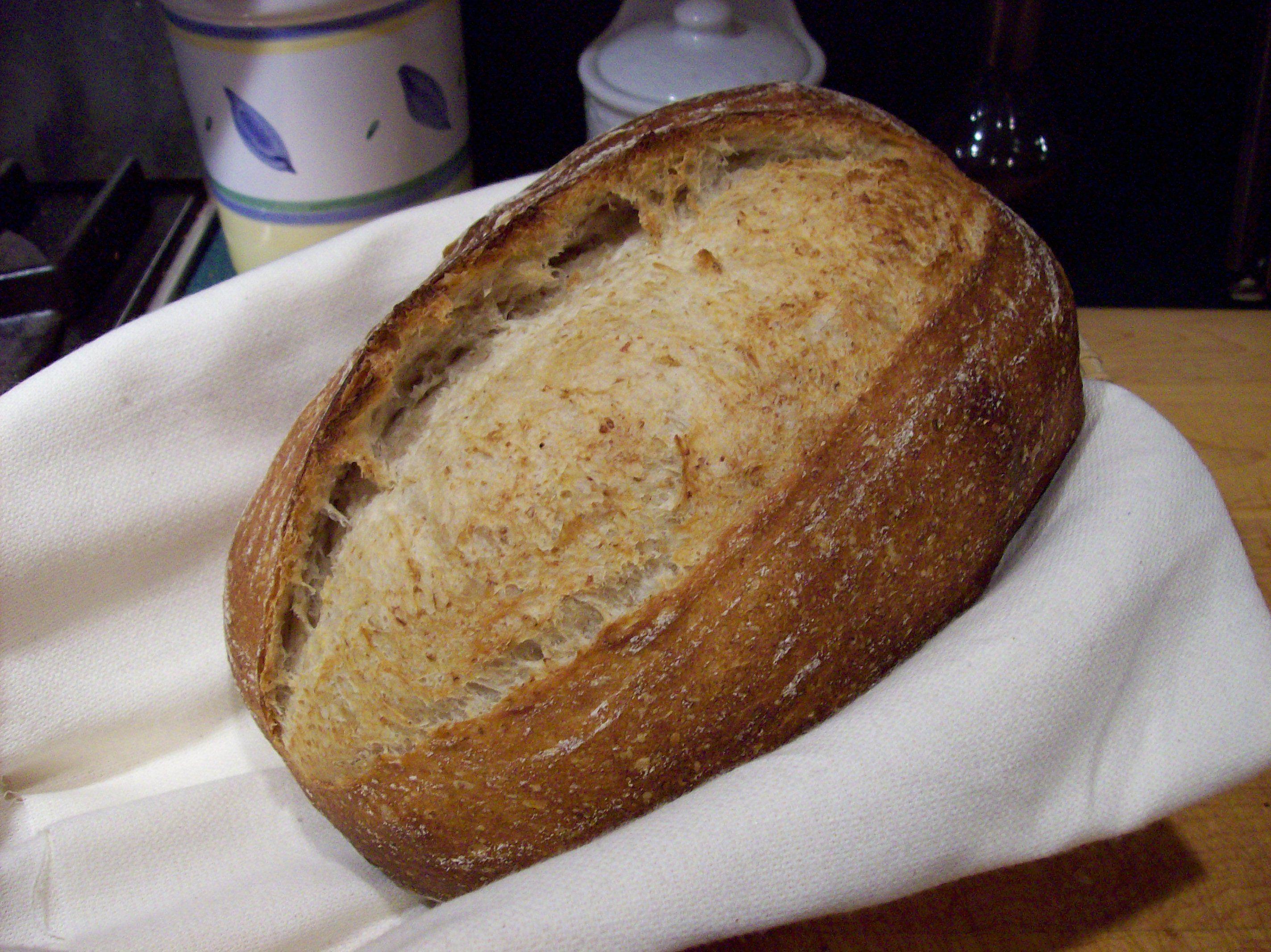 Pain Au Levain Sourdough Bread Uses Ap And Medium Rye
