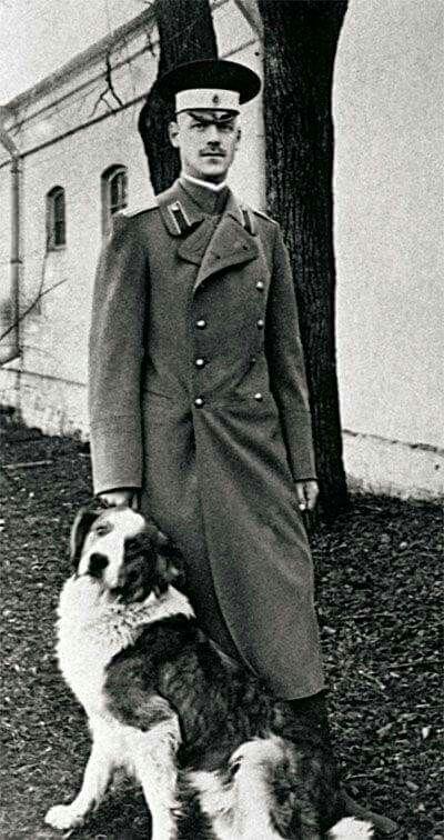 Grand Duke Michael Alexandrovich (1878 – 1918) of Russia, son of Alexander III, brother of Nicholas II. Date: 1917. #history #Romanov