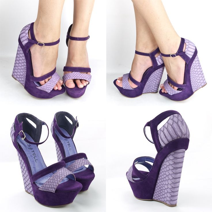 Purple shoes are captivating and hottest addition in women ...