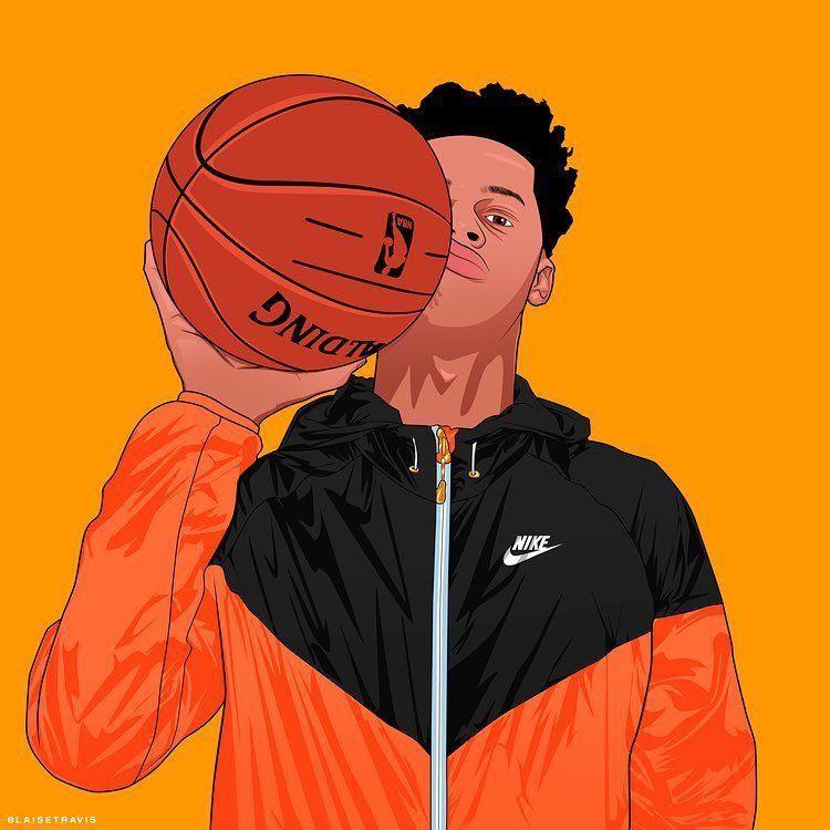 Nike baller nike dope art trill art dope wallpapers - Cartoon boy wallpaper ...