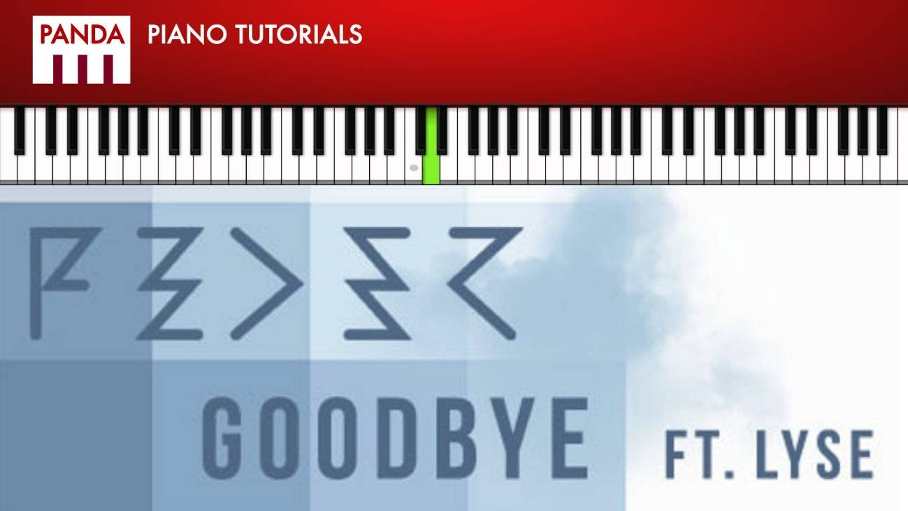 Feder goodbye ft lyse how to play piano tutorial chords feder goodbye ft lyse how to play piano tutorial chords melody hexwebz Images