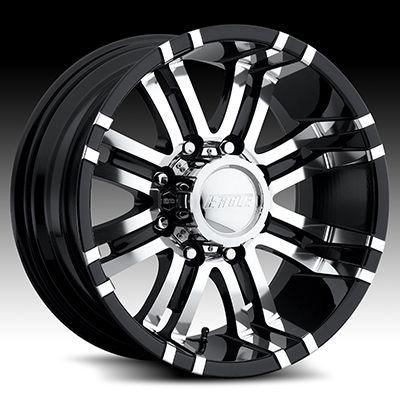 Raceline Ballistic Incubus Google Search Black Chrome Wheels Truck Rims And Tires Wheel Rims