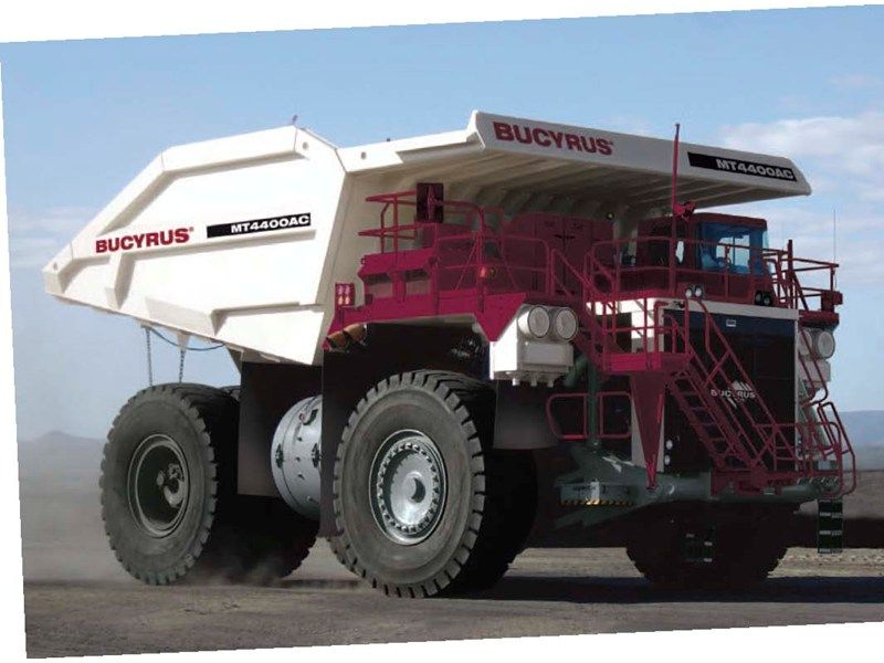 Bucyrus mt4400ac heavy equipment 1 pinterest heavy
