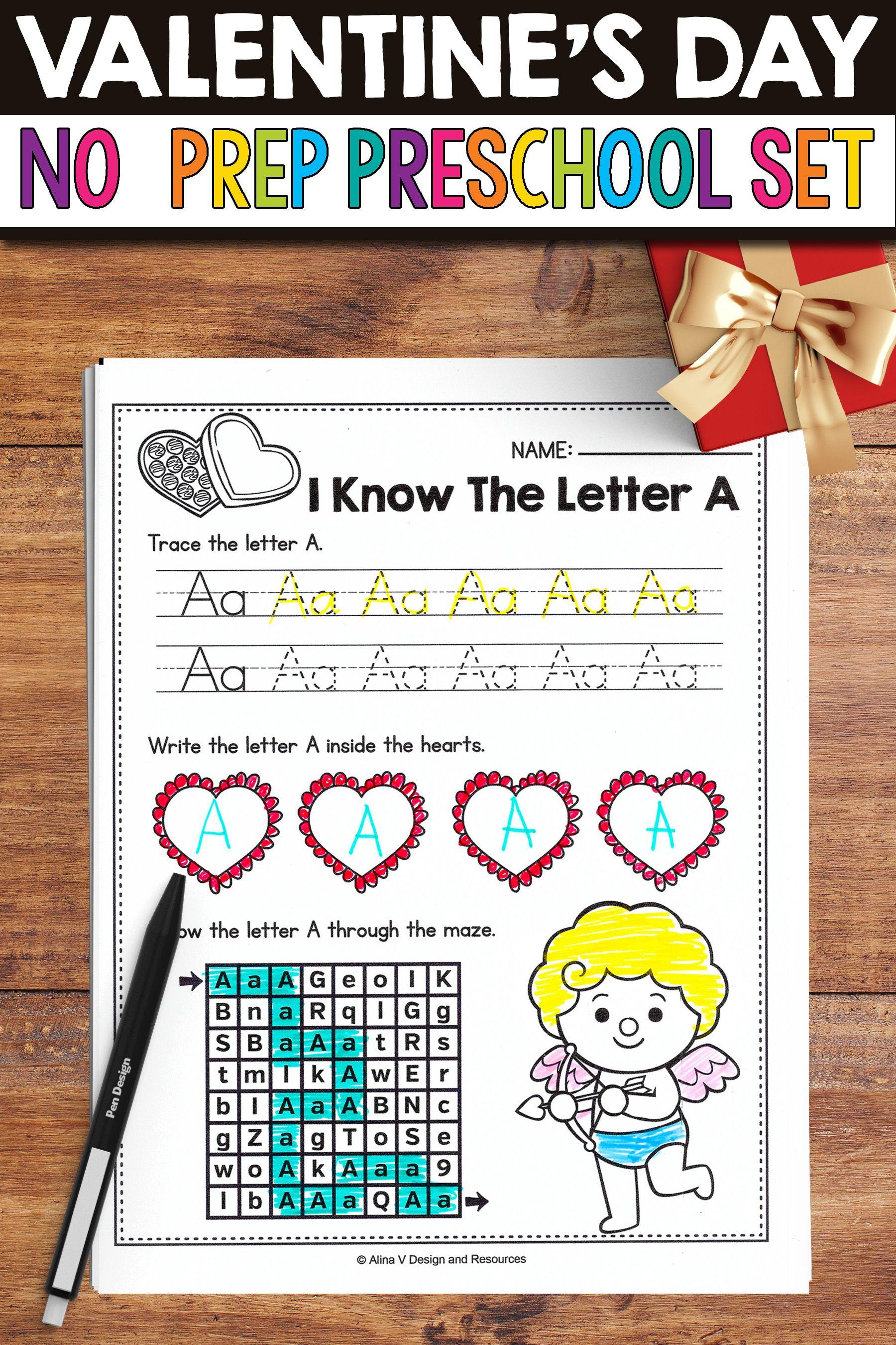 Valentine S Day Activities For Preschool Valentine S Day