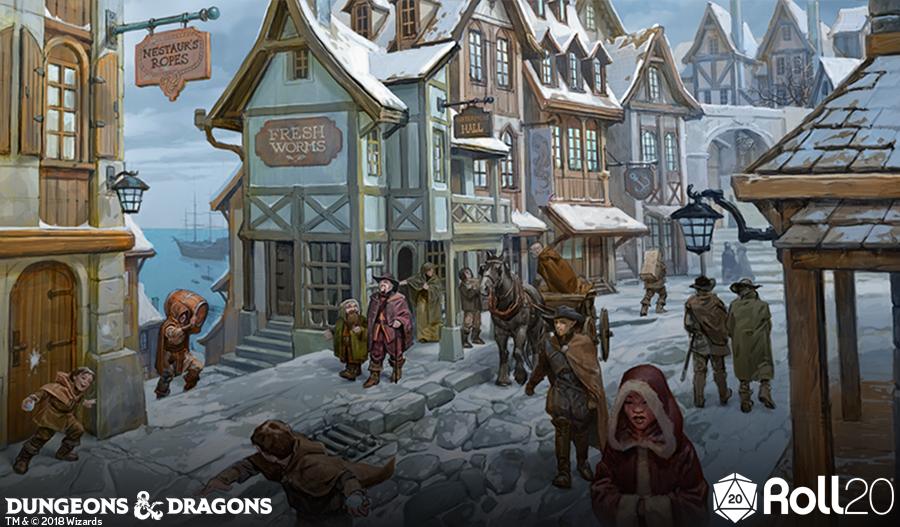Enjoy a sneak peek into Waterdeep: Dragon Heist and order at