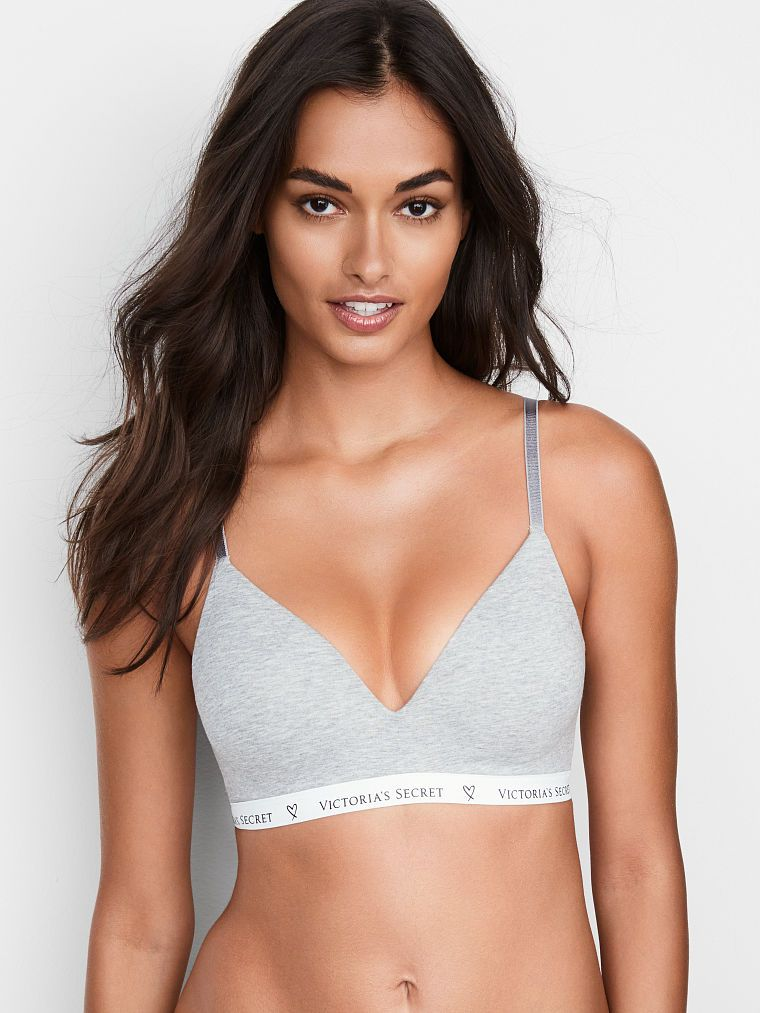 c258d5425 Cotton Lightly Lined Wireless Bra - The T-Shirt - Victoria s Secret ...