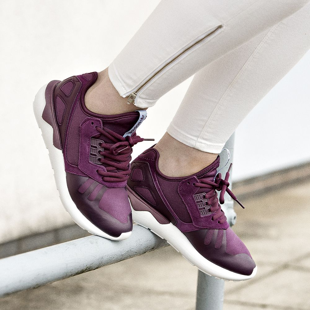 new product 6cd6c 7b696 A W tones from the adidas Originals Womens Tubular Runner Trainer.  Available online   in store.