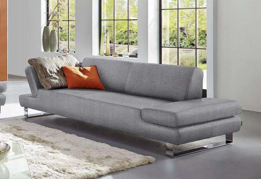 W Schillig 3 Sitzer Taboo Mit Ubertiefe Inklusive Armlehnenverstellung Online Kaufen 3 Sitzer Sofa Schillig Sofa Und 3er Sofa