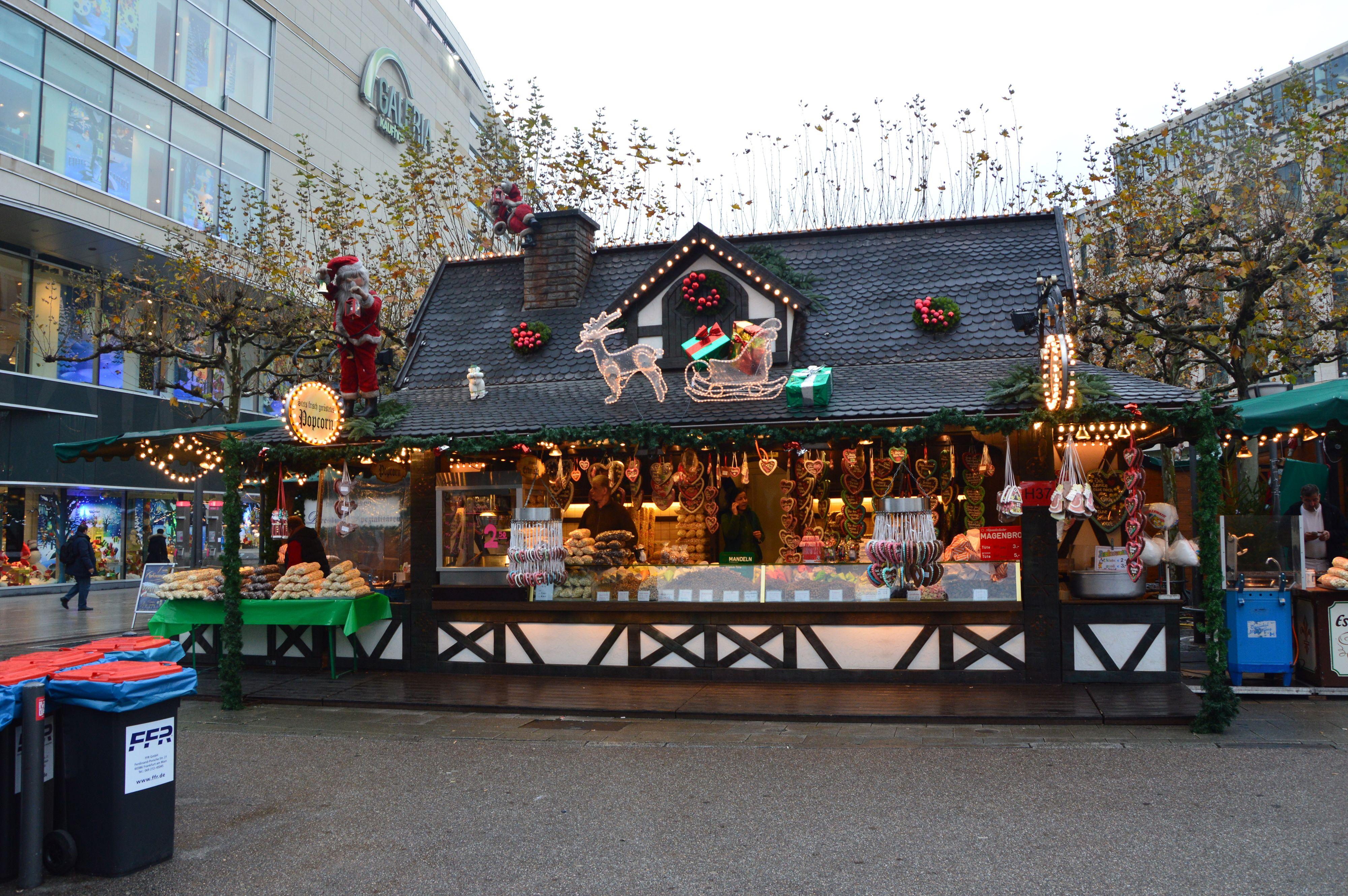 Mercado navideño Frankfurt