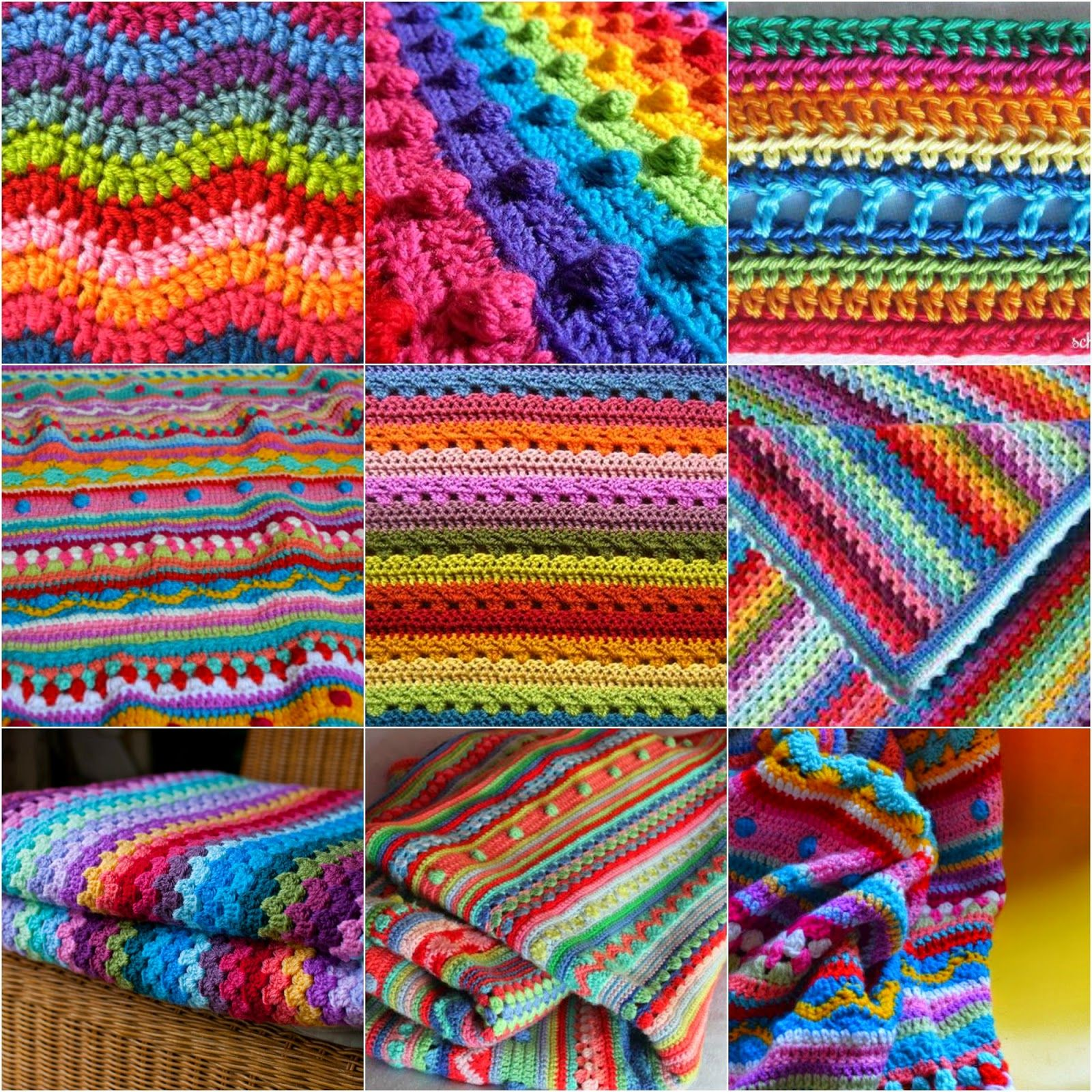 KAL knitting or crochet blanket   Marieta\'s Yarnland   dekens ...