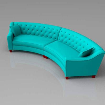 Prime Curved Tufted Sofa Riemann Tufted Sofa 3D Model Download Free Architecture Designs Grimeyleaguecom