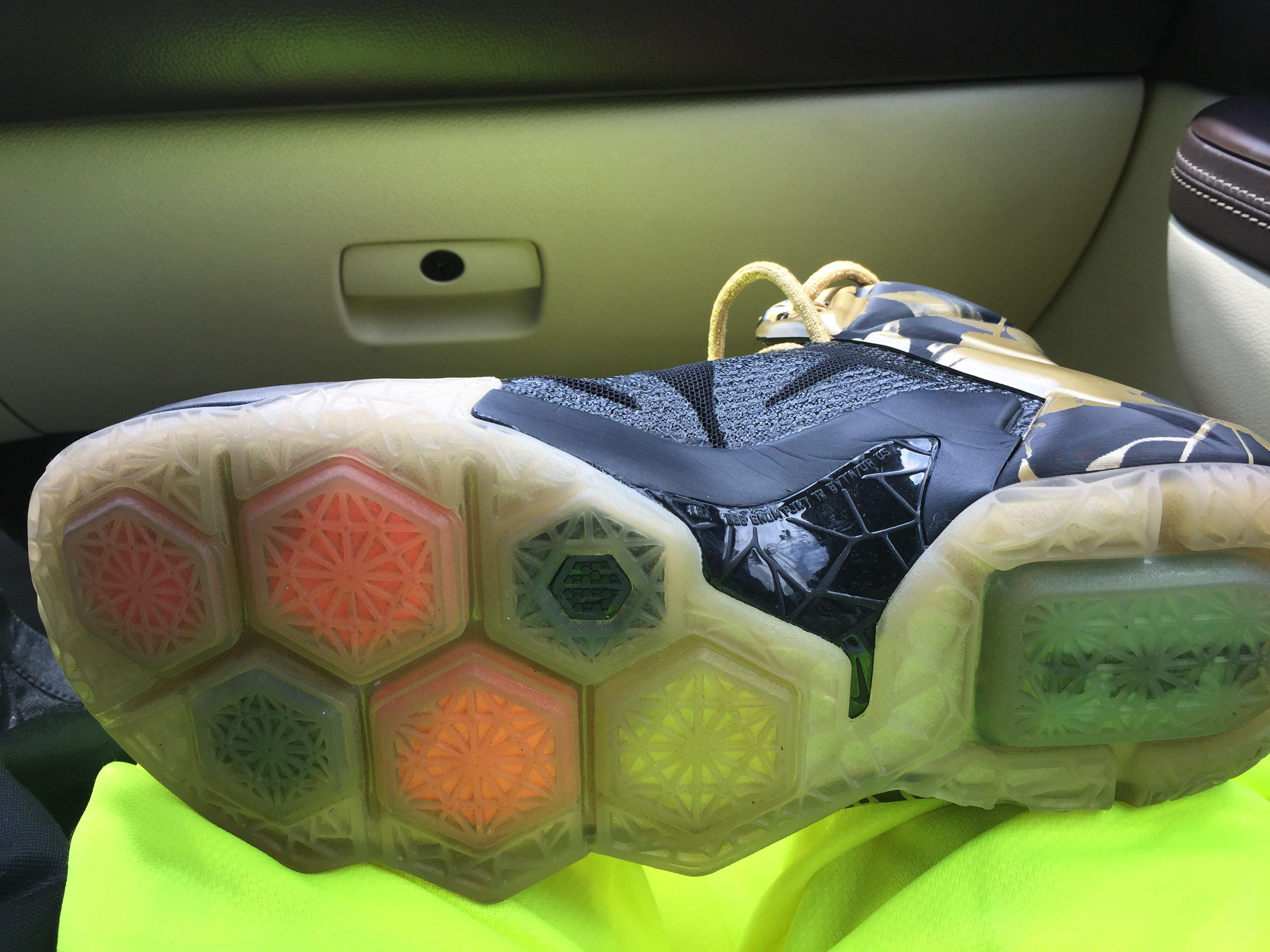 Custom sole