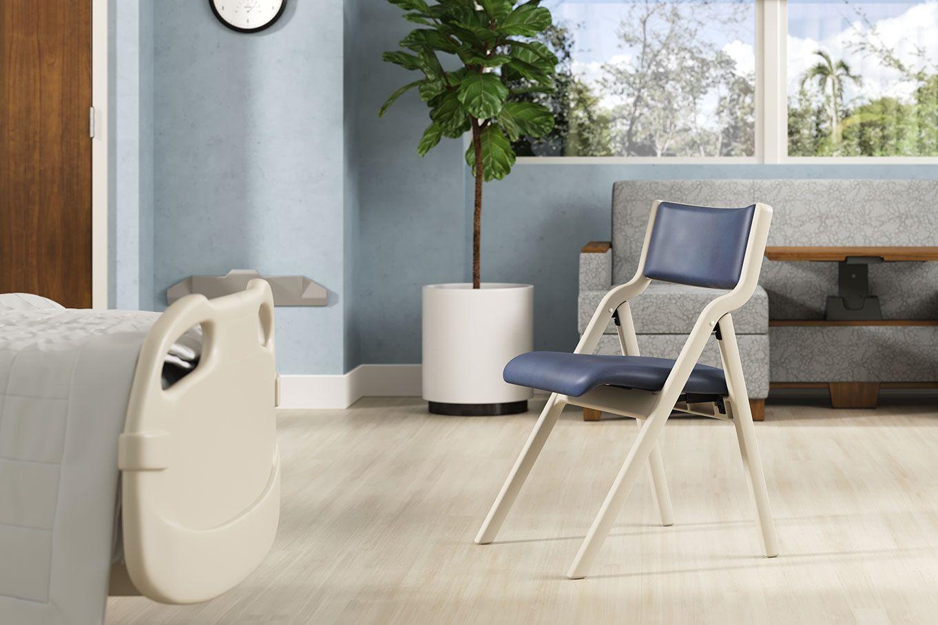 Perk Folding Chair with sleepToo® Wieland Healthcare