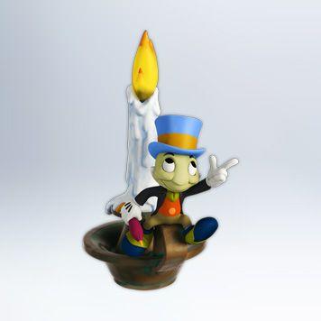 Jiminy Cricket as Ghost of Christmas Past Keepsake Ornament