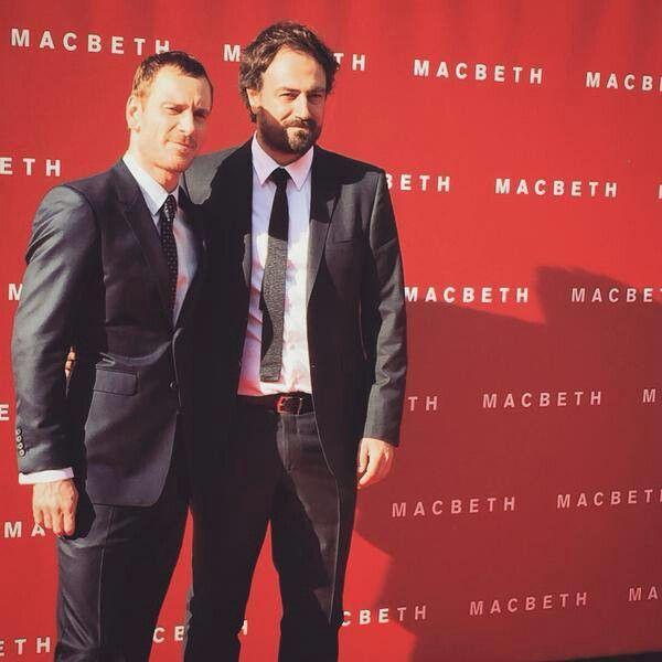 Michael Fassbender and director Justin Kurzel of the movie MacBeth