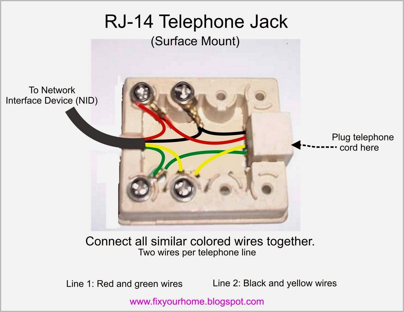 New Wiring Diagram For Home Phone Jack Diagram Diagramsample Diagramtemplate Phone Telephone Phone Jack