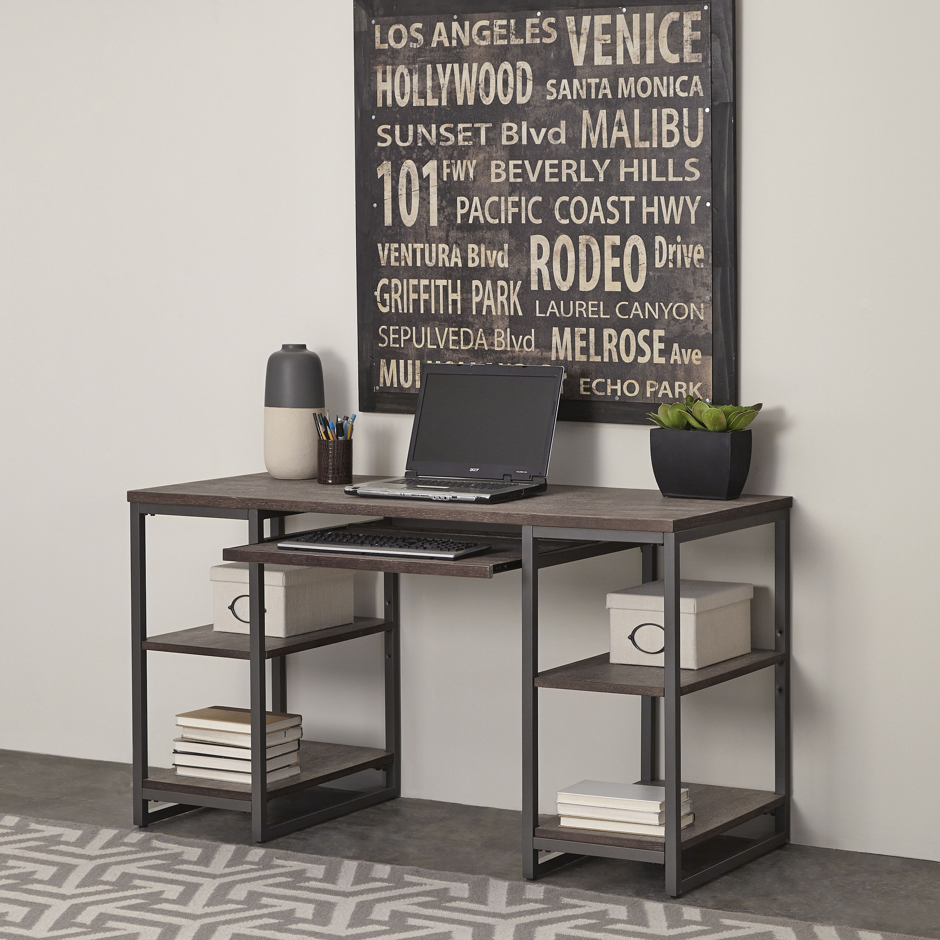 Our Best Home Office Furniture Deals Home Styles Pedestal Desk Home