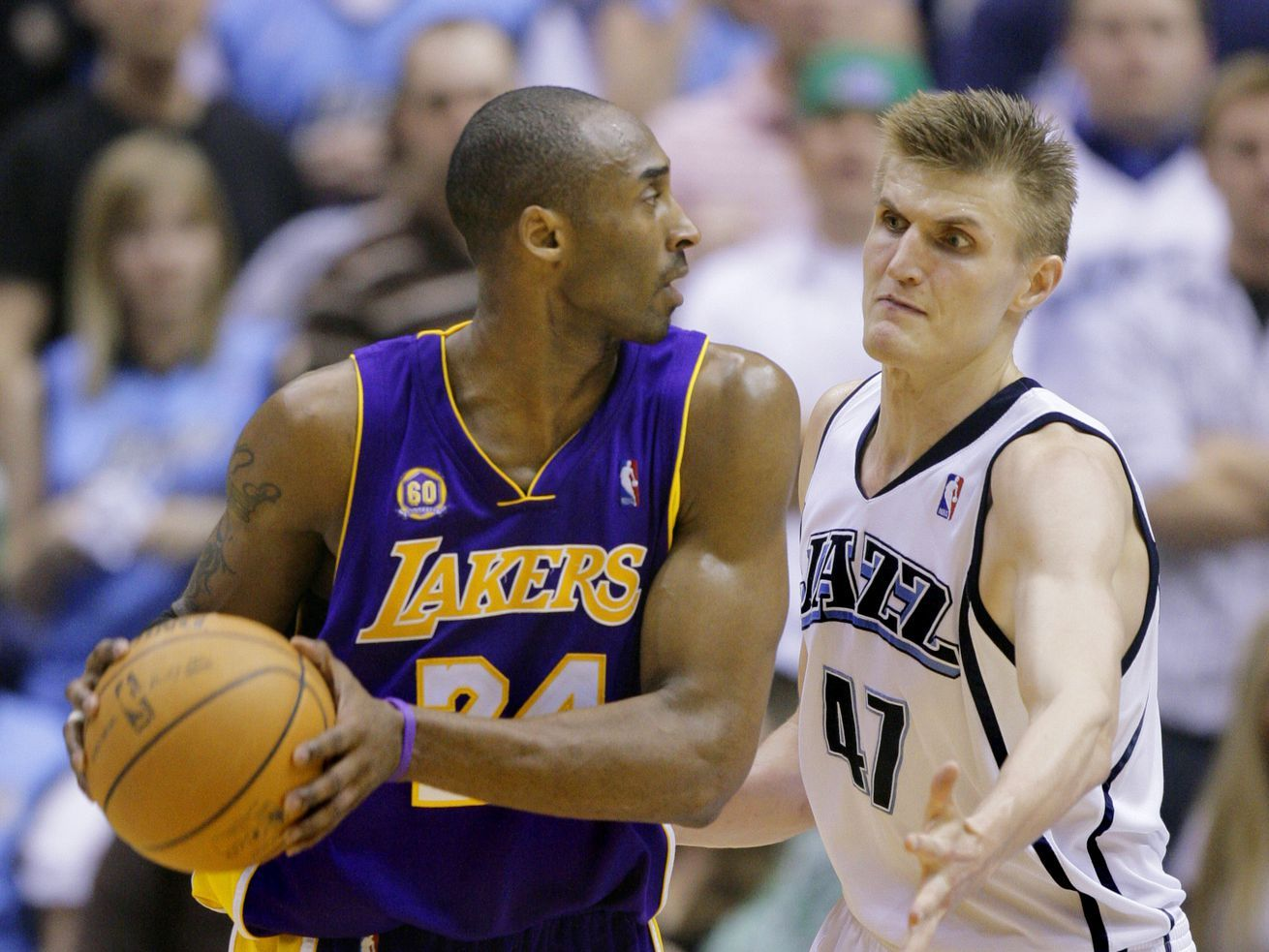 Kobe had many memorable moments against the Jazz in 2020