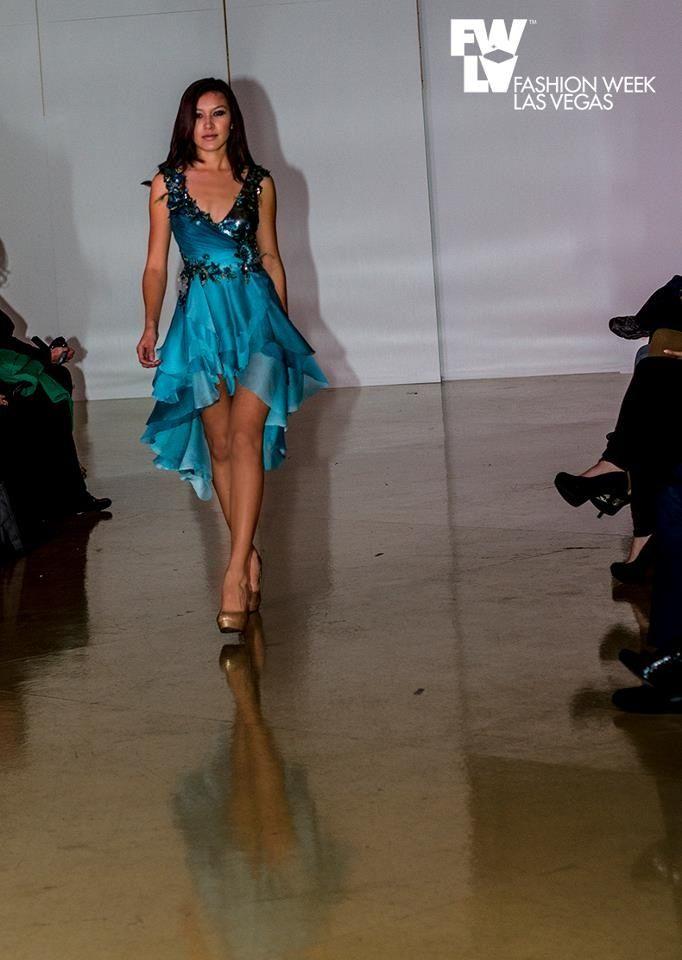 On the runway for Fashion Week Las Vegas For women\'s wear / women\'s ...