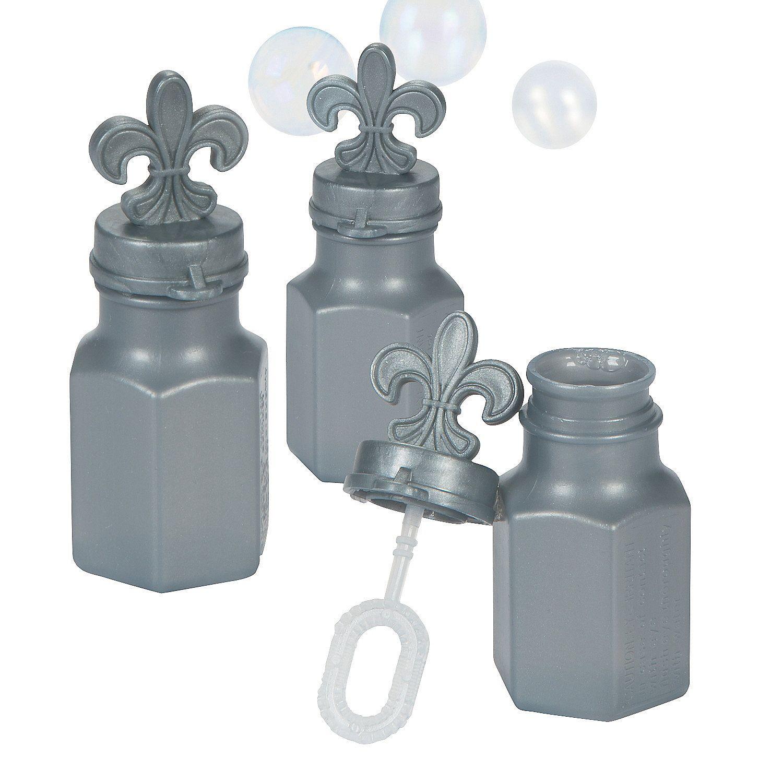 Fleur De Lis Bubble Bottles - OrientalTrading.com Rachel-Bought 3 ...