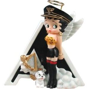 New Westland Betty Boop Letter N For Nurse Figurine