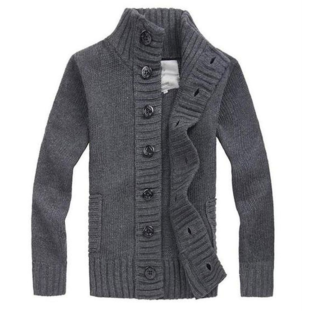2017 NEW knit cardigan sweater thick sweater coat line casual ...