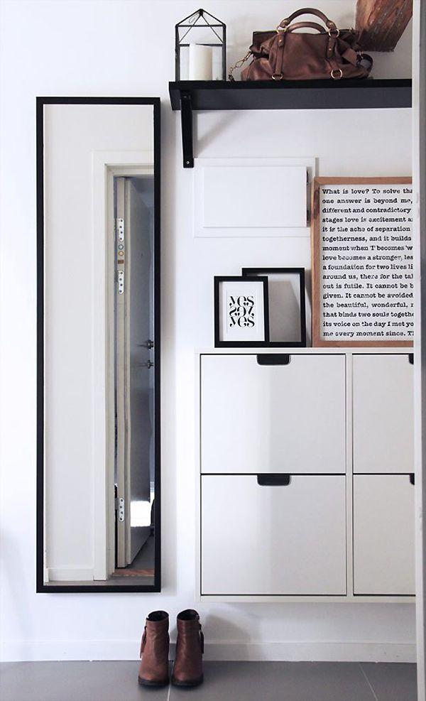Portes ouvertes  maison en Norvège Flure Pinterest Porte - entree de maison avec escalier