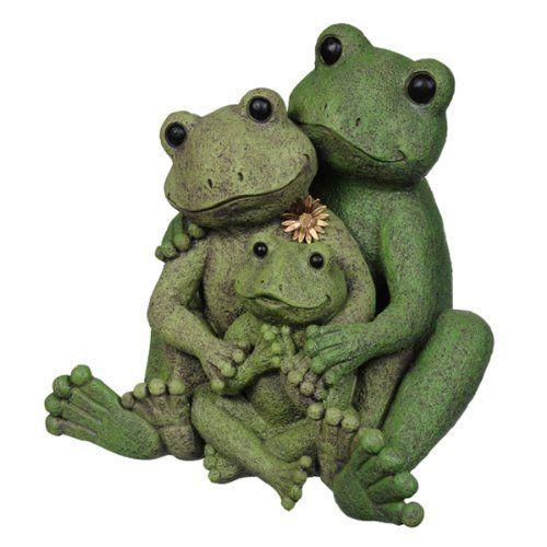 Grasslands Road Lilypad Lane Frog Family Figurine Mom 400 x 300