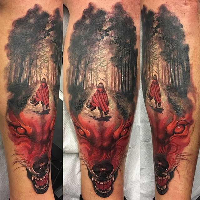 Tattoo Ideas Hood: The Wolf Would Be Changed.
