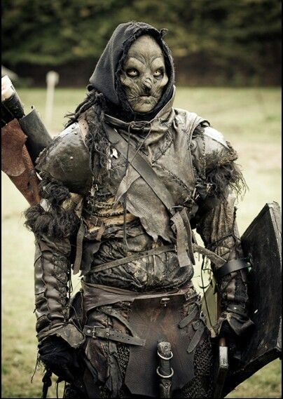 Orc archer  Larp costume of awesomeness : | Fog_Bandit in