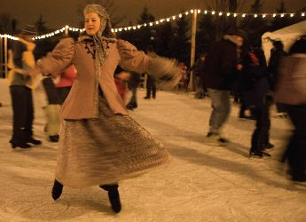Holiday Nights in Greenfield Village From: The Henry Ford Dearborn