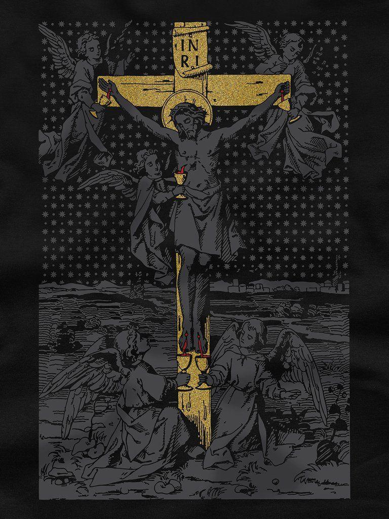 Vanitas Branco Camiseta Arte Catolica Cristo E Crucificacao