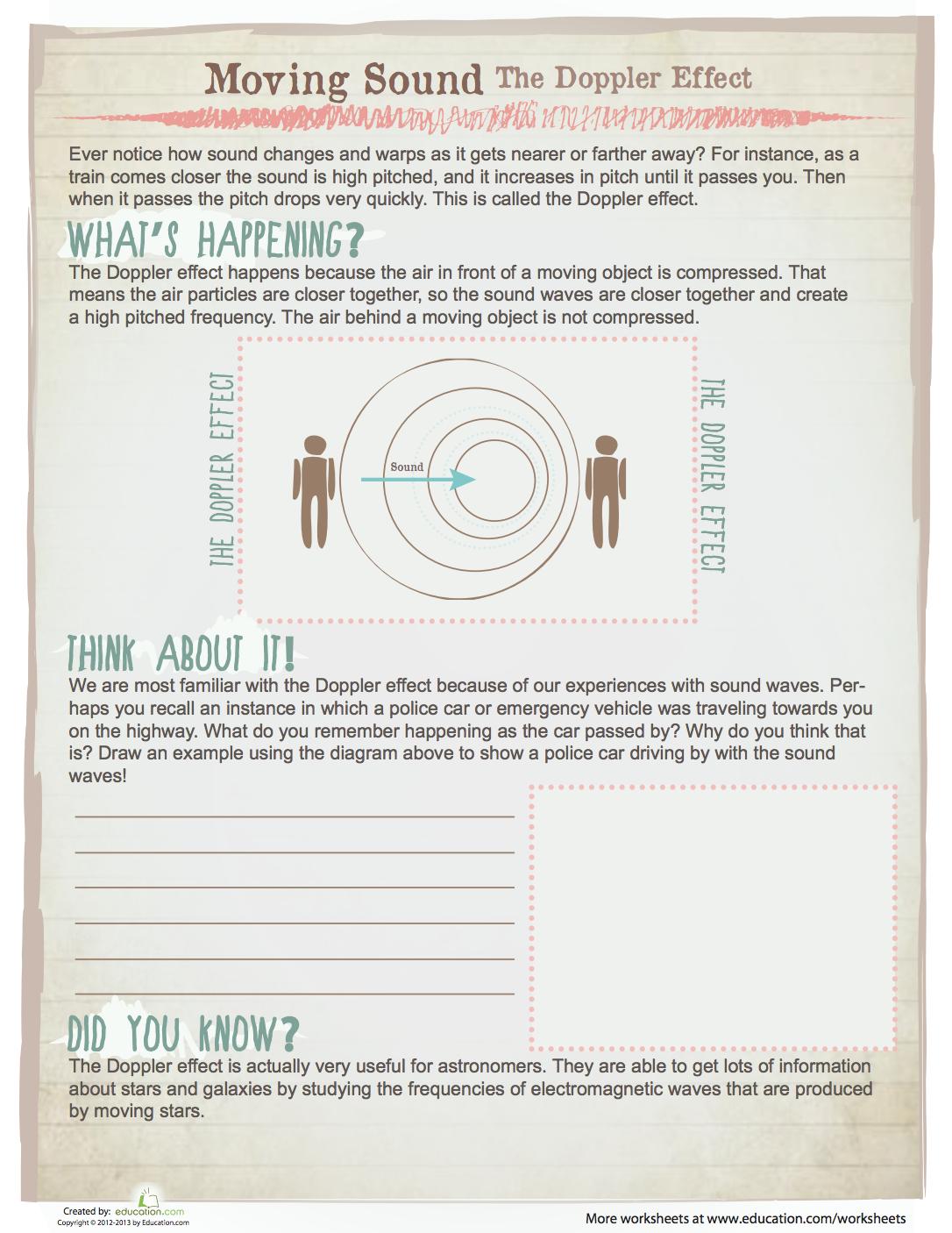 How Things Work The Doppler Effect