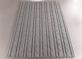 Knitted Effect For This Grey Carpet By Floor To Heaven Carpets