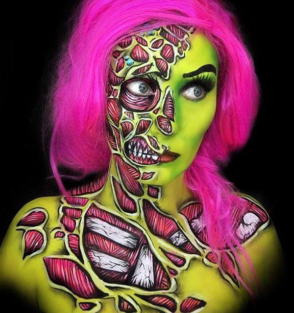 Awesome Halloween make-up