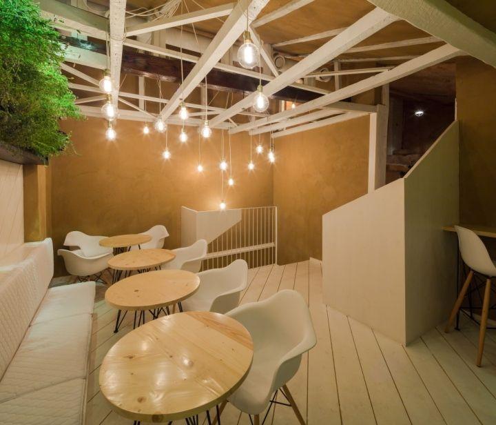 SHIFT restaurante por Lama Arhitectura Bucarest Rumania Retail